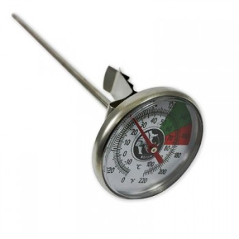 Rhinowares Cappuccino Thermometer long 18cm RWTHERML