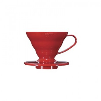 HARIO Coffee Dripper V60 size-01 ceramic red VDC01CBR