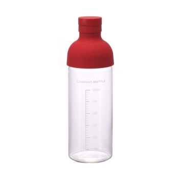 HARIO Cooking Bottle 300ml red CKB300R