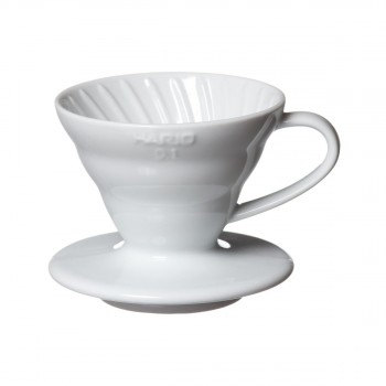 HARIO Coffee Dripper V60 size-01 ceramic white VDC01W