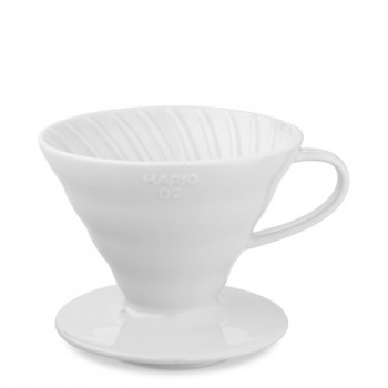 HARIO Coffee Dripper V60 size-02 ceramic wht VDC02W