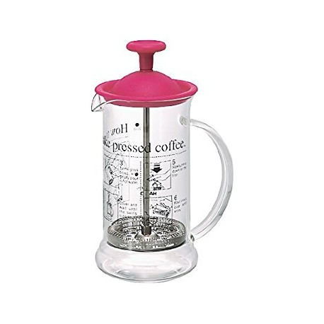 HARIO Coffee Press 240ml red CPSS2R