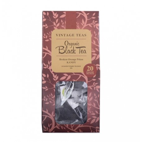 Vintage Tea Bags  English Breakfast  KraftBag 20x2.5g P2259